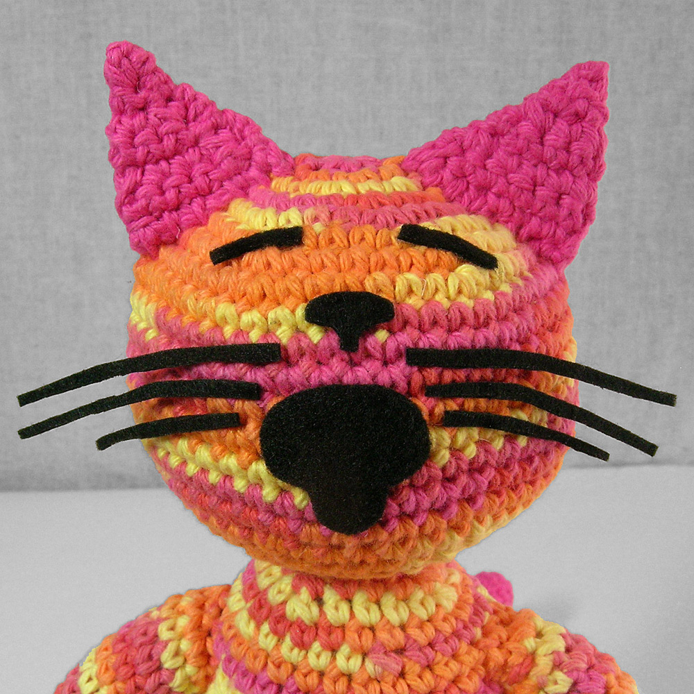 Crochet Cat Again patti haskins