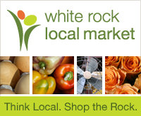 white rock local market logo