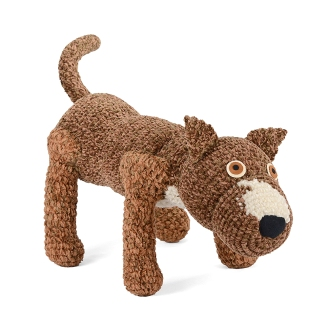 crocheted pitbull