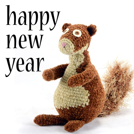squirrely new year