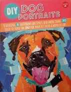 diy dog portrait book cover