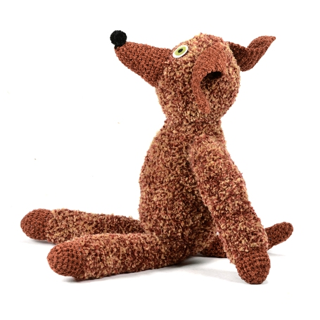 charles crochet pup facing left