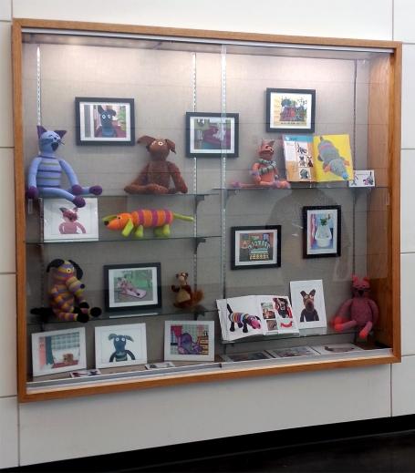 prairie creek library display