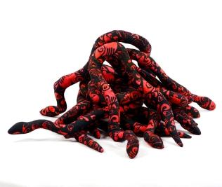 valentine catnip snake pile