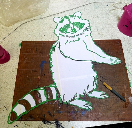 coon in progress